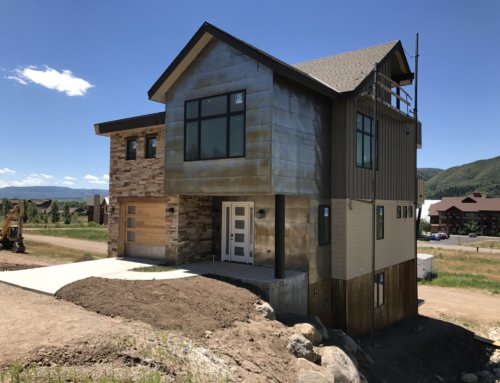 Efficient use of luxurious space in new homes in Steamboat's Flat Tops at Wildhorse