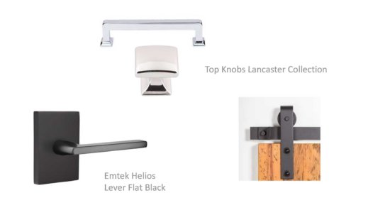 Flat Tops Interior Modern Hardware