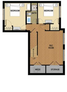 Floor Plan A Basement