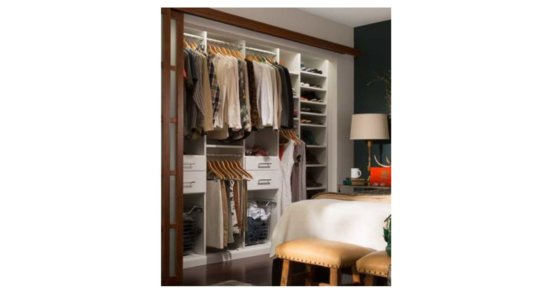 Flat Tops Upgrade Options Closet Organizer
