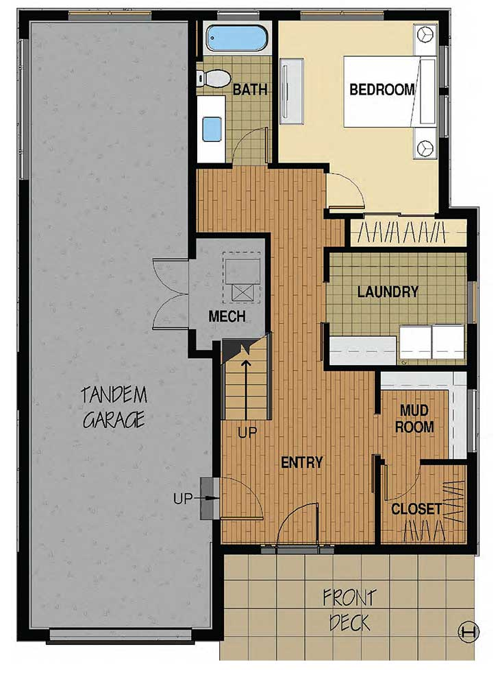 Floor plan a flat tops at wildhorse meadows