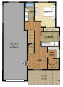 Floor Plan A 1st Floor Option 3