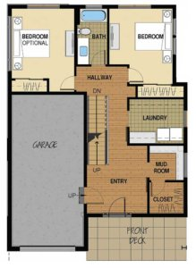 Floor Plan A 1st Floor Option 4