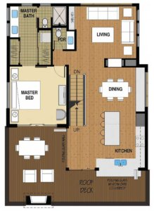 Floor Plan A 2nd Floor