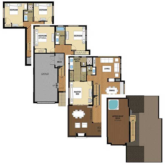 Flat Tops Floor Plan A