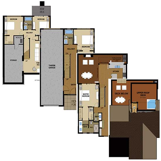 Flat Tops Floor Plan B