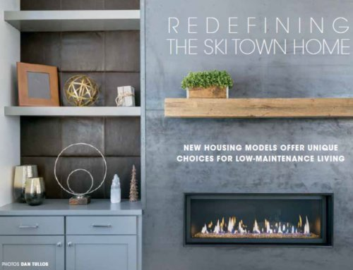 Redefining the Ski Town Home