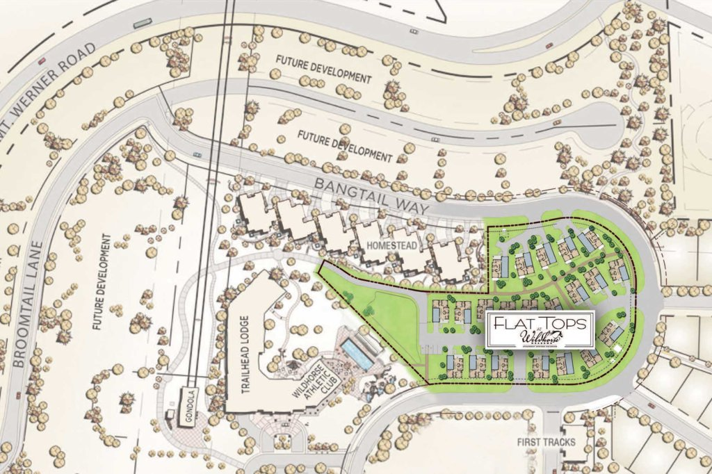 Wild Horse Flat Tops Site Plan